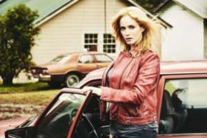 Christina Hendricks as Trudy - Hap and Leonard _ Season 1, Gallery - Photo Credit: James Minchin/SundanceTV